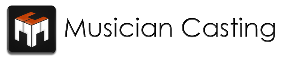 musician casting logo